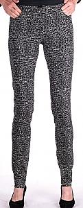 slim fit pantalon - Zwart Dessin