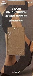 2 x pantykous mousse - Mid.bruin