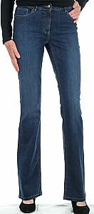 flared jeans - D.blauw
