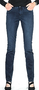 superstretch jeans - Mid.blauw