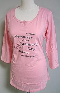 pyjamashirt - Mid.roze