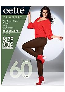 dikke panty extra lang - D.grijs
