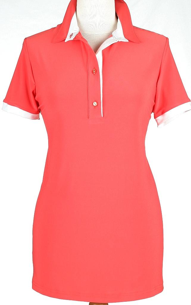 polo shirt - Mid.roze