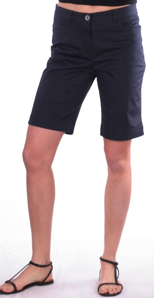 korte broek - D.blauw