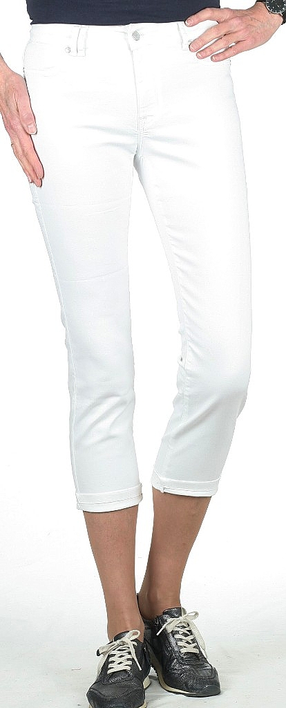 3/4-broek stretch - Wit