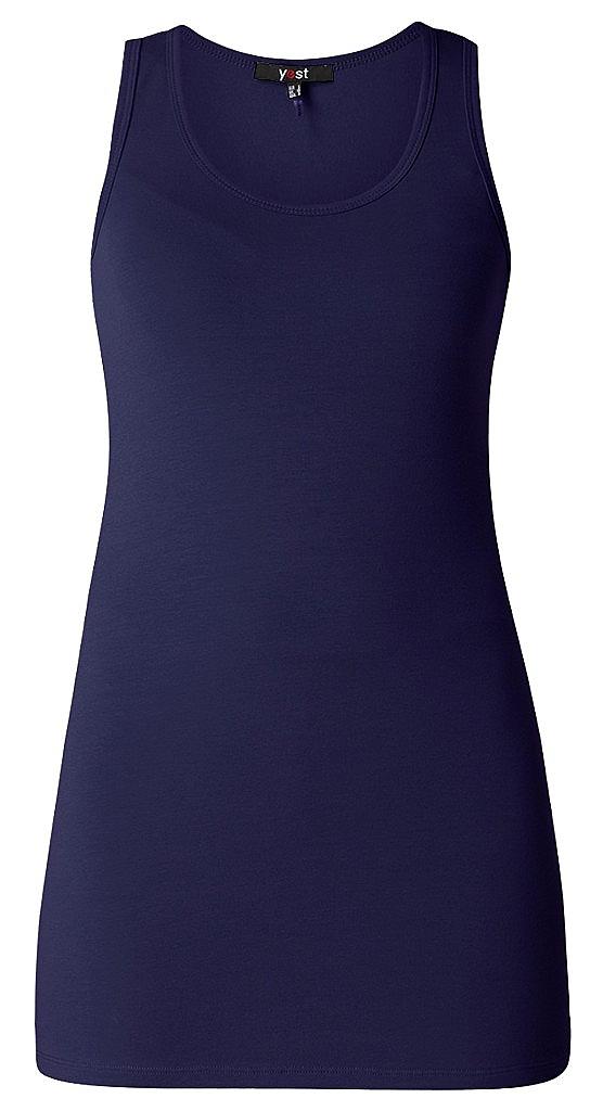 basic singlet - D.blauw