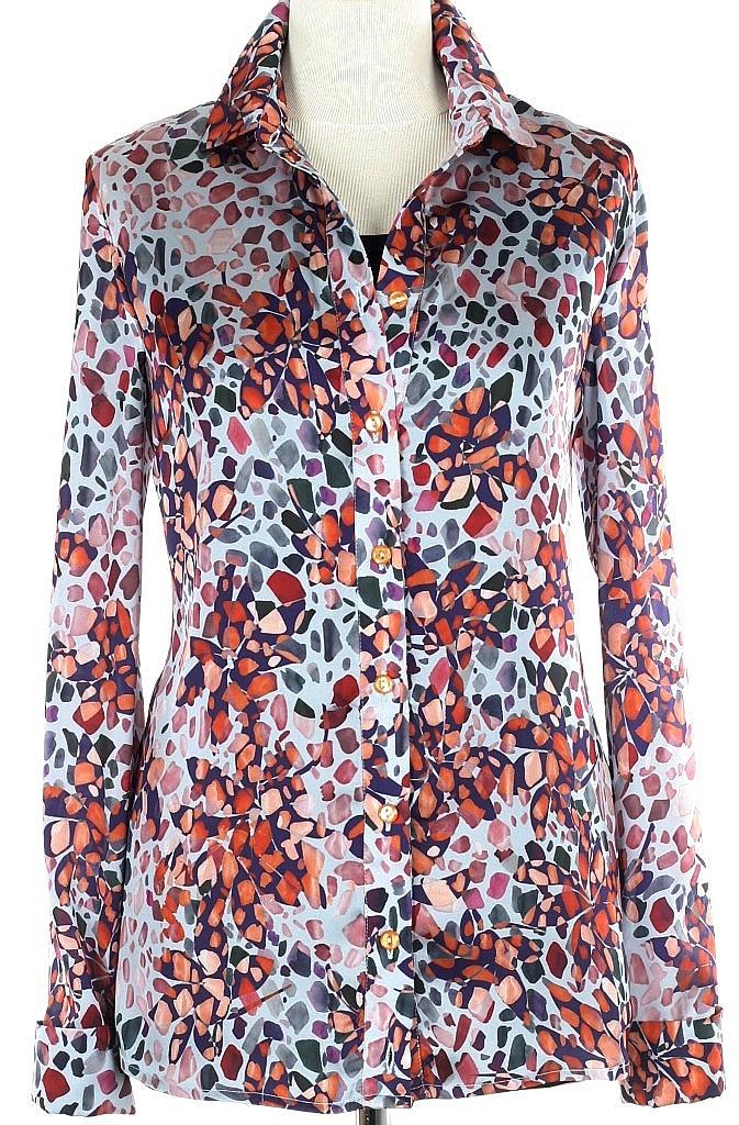 blouse dessin - Brique