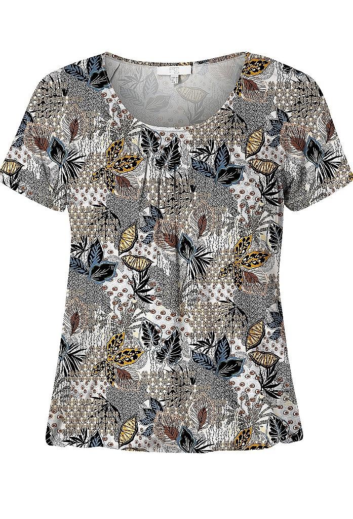 shirt k.m. - Bruin Dessin