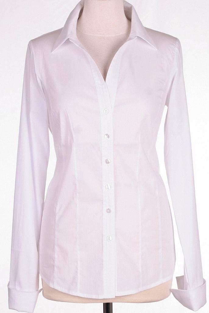 basis blouse - Wit