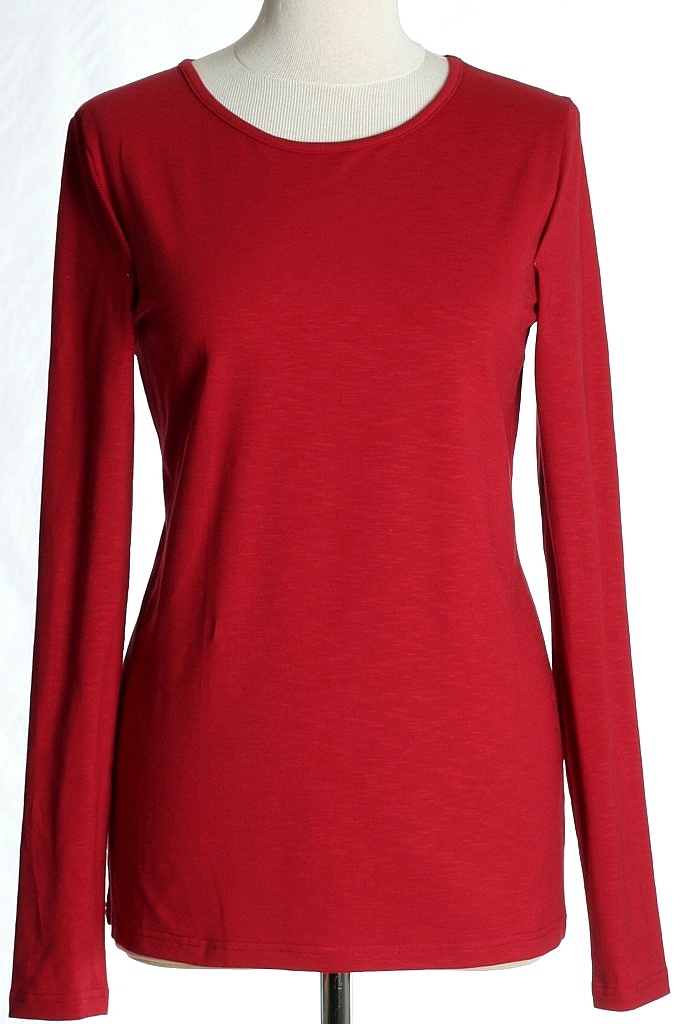 basic shirt - Bordeaux